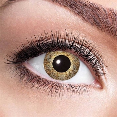 Funlenzen, Gouden Sparkle contactlenzen (jaarlenzen)