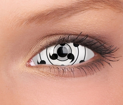 Sclera Tailed Beast funlenzen, White