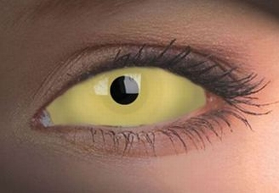 Sclera UV Amazo funlenzen, Yellow