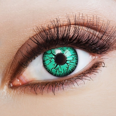 Funlenzen Green Blood Fiber / Groene bloedvaten, jaarlenzen