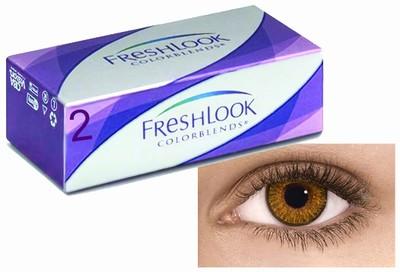 Kleurlenzen Freshlook ColorBlends, 2-pack, Honing
