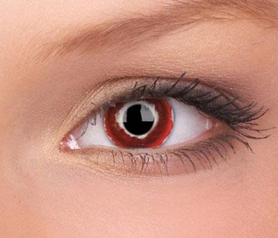 Crazy lenses, funlenzen  Hellblazer