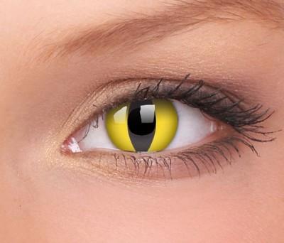 Crazy Lenzen funlenzen ) Cat Eye (met prisma