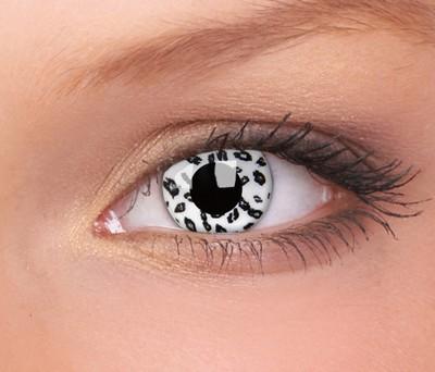 Crazy lenzen, White Leopard