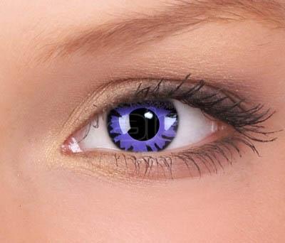 Crazy lenses, funlenzen, Toxic Plum
