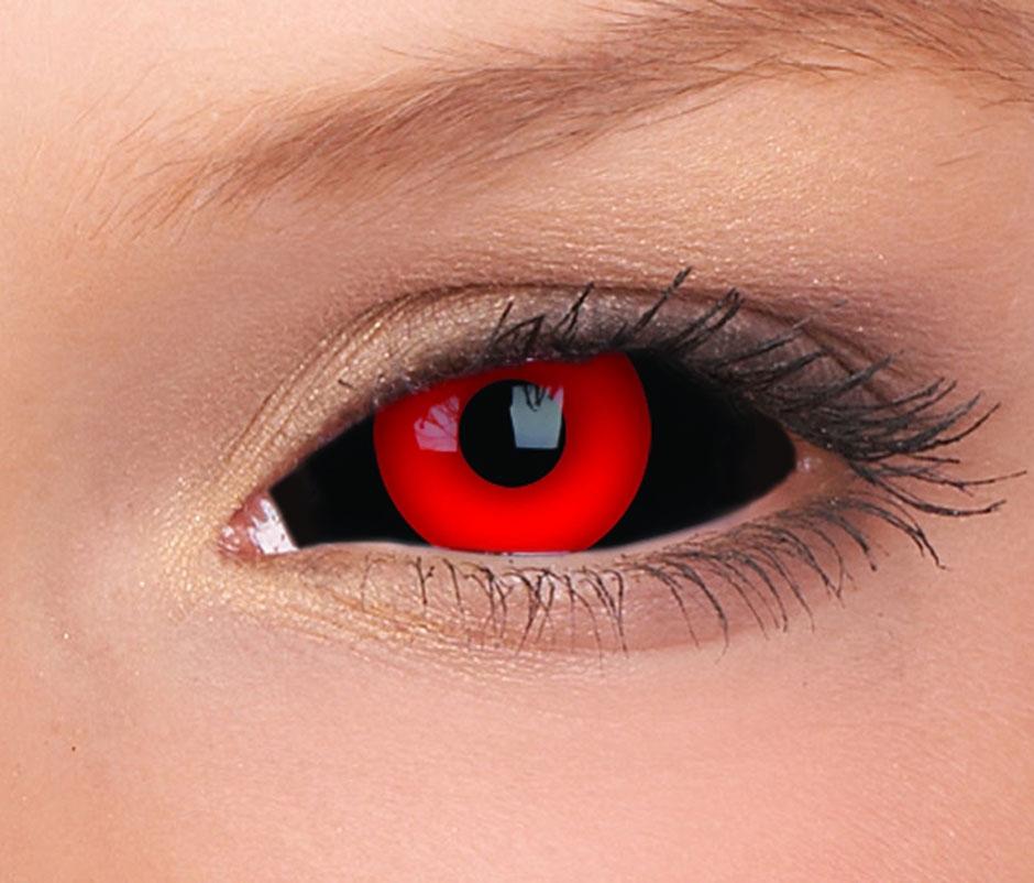 как сделать красные глаза на фото третьем этаже