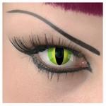 Funlenzen TerrorEyes contactlens, Jungle Eyes 1 lens LAATSTE
