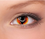Fashion Lentilles mini sclera (17 mm), Anaconda, jaarlenzen