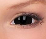 Crazy Lenzen mini sclera 17 mm,  Black Titan, jaarlenzen