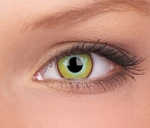 Crazy lenses, funlenzen  Yellow Plague