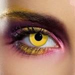 Terror Eyes, funlenzen Yellow, jaarlenzen