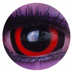 Sclera Red funlenzen, Red Circle, jaarlens