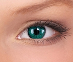Crazy lenses, funlenzen, Green/groene  Monster